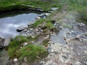 Natural hot water