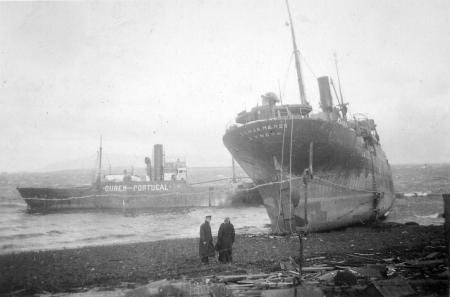 06 Sonjamaersk Aground Feb 1941
