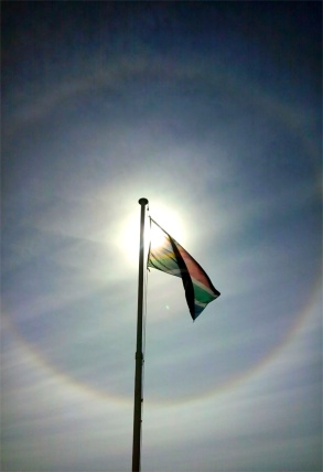 Ice Halo South African flag