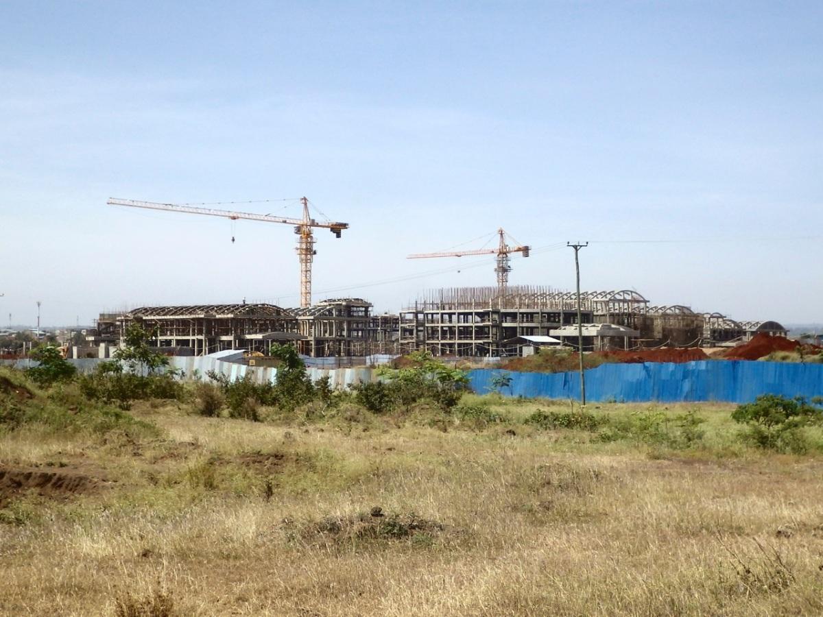 Teaching Hospital under Construction