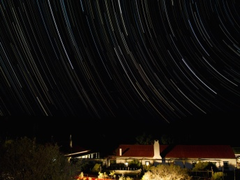 Star Trails over Ganora