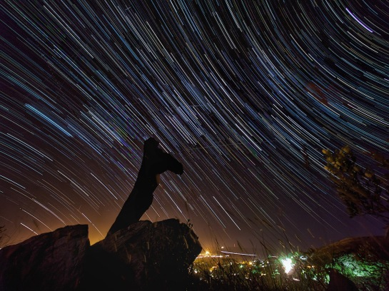 Belmont Valley Star Trails