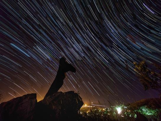 Belmont Valley Star Trails