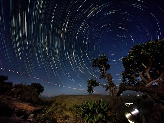 Oldenburgia Trail Star Trails