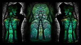 Triptychs 1: Stained Glass