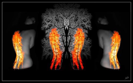 Triptych Flame 1