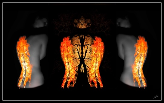 Triptych Flame 2