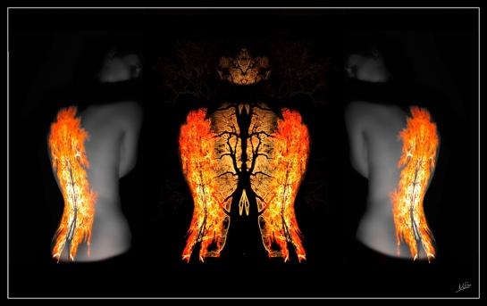 Triptych Flame 2
