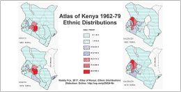 Atlas of Kenya: Ethnic Distributions slideshow
