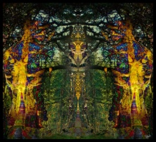 Stained Glass Dryad