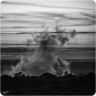 Victoria Falls BW 1 The Smoke That Thunders