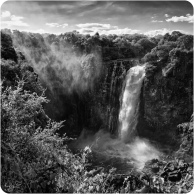 Victoria Falls BW 3 Devil's Cataract