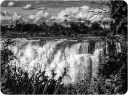 Victoria Falls: a Black and White PhotoEssay