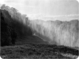 Victoria Falls BW 7 Mist Forest