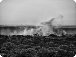 Victoria Falls BW 8 The Smoke That Thunders