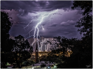 Grahamstown, Lightning, #NAF18, Metamorphosis, Night Photography