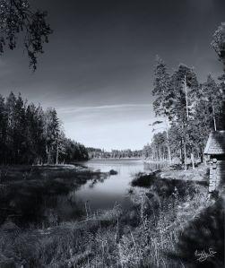 Karlsbo Dalarna Fujifilm F100X Monochrome Sweden