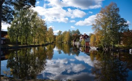 Reflections on the Culture Trail,Sundborn