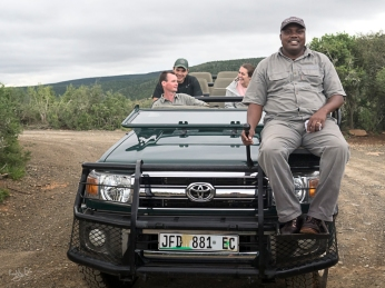 Kwandwe, WESSA, Natural Heritage, RoddytheFox, Wildlife, Jack Conklin, Caitlyn Conklin