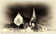 Cathedral of St Michael and St George on Church Square, Grahamstown Makhanda