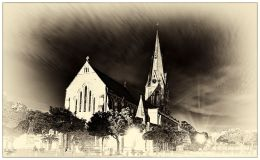 Grahamstown's Cathedral of St Michael and St George: three different takes