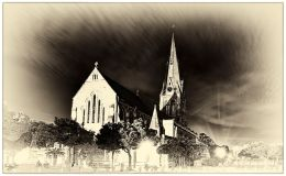Grahamstown's Cathedral of St Michael and St George: three differenttakes
