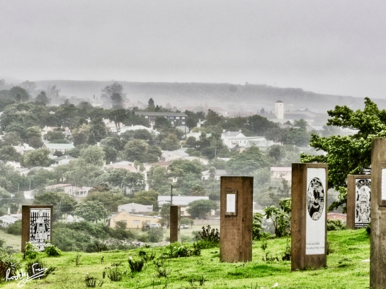 Egazini, the site of the battle of Grahamstown