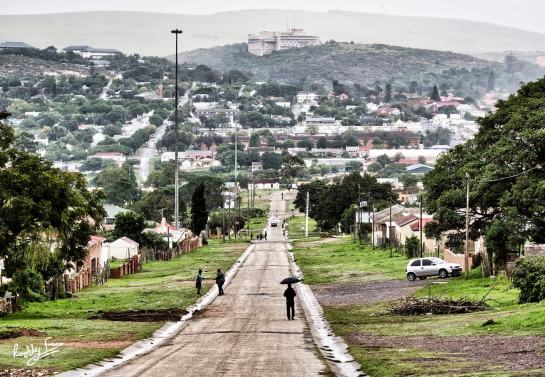 Across the valley from Wood Street, Fingo Village, Grahamstown Makhanda