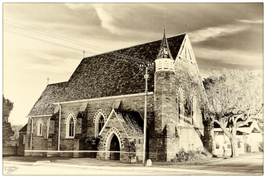 St Barts by night: Grahamstown Heritage Series