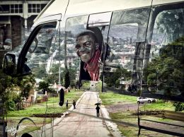 Fingo Village taxi ride: a photo merge