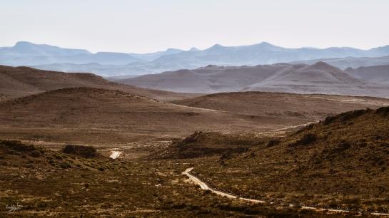 Sneeuberg Landscape at Ganora, Nieu-Bethesda, Karoo