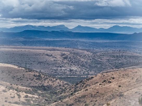Sneeuberg Landscape from Mt Zebra, Cradock, Karoo