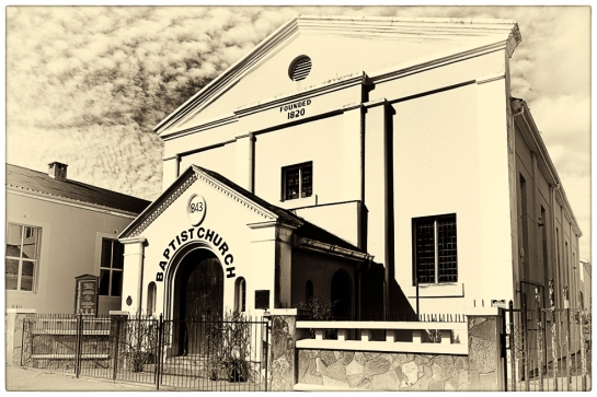 The Baptist Church, Bathurst Street, Grahamstown, Makana