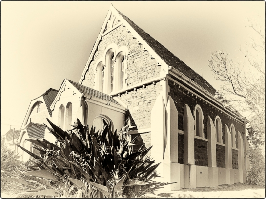 Wesleyan Chapel and Hall, Fort England, Grahamstown, Makana