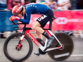 Chad Haga Northallerton UCI 2019 elite men TT.