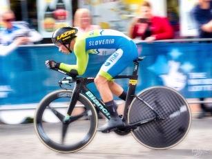 Primoz Roglic Northallerton UCI 2019 elite men TT