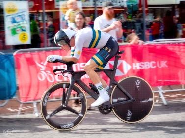 Rohan Dennis Northallerton UCI 2019 elite men TT