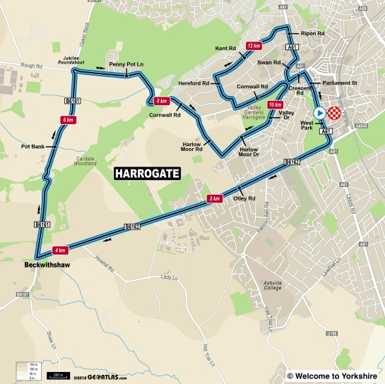 The Harrogate Circuit for UCI 2019