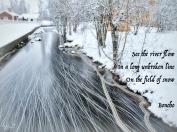 See the Faluån flow - Boncho's classic haiku