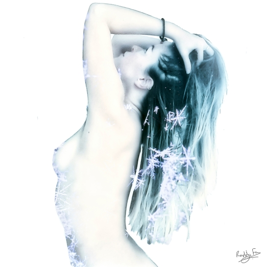 The Ice Queen fantasy artwork