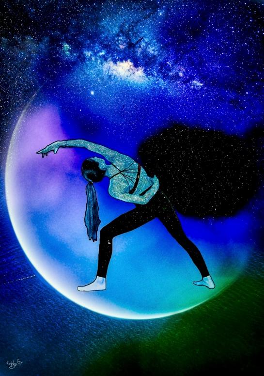 The Yoga Teacher and the Blue Sea Moon