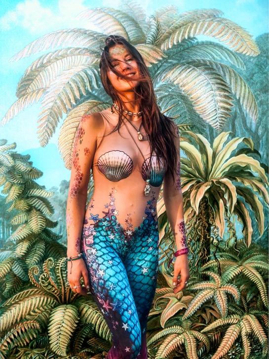 The mermaid in Haeckel's Ferns (Filicinae)