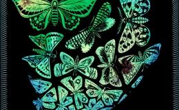MC Escher's Butterflies PrintRe-imagined